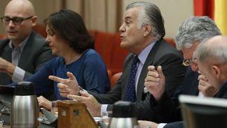 Bárcenas ha explicat al Congrés que no respondrà cap pregunta per no perjudicar la seva estratègia de defensa en les seves causes judicials (EFE)