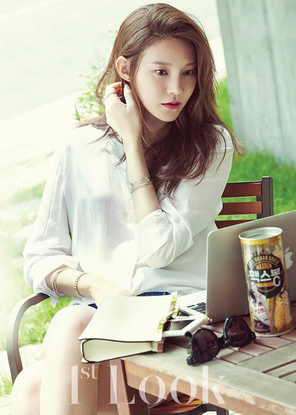 Cha Ye Ryun - 1st Look Magazine Vol.93