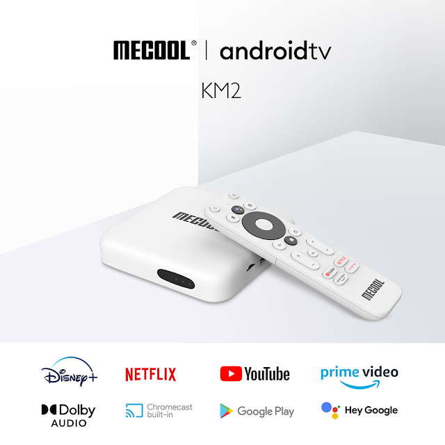ANDROID TV MECOOL KM2 CERTIFIEE NETFLIX