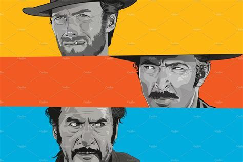 The Good, the Bad and the Ugly ~ Illustrations ~ Creative
