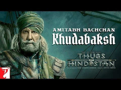 Amitabh Bachchan's Khudabaksh first look Motion Poster