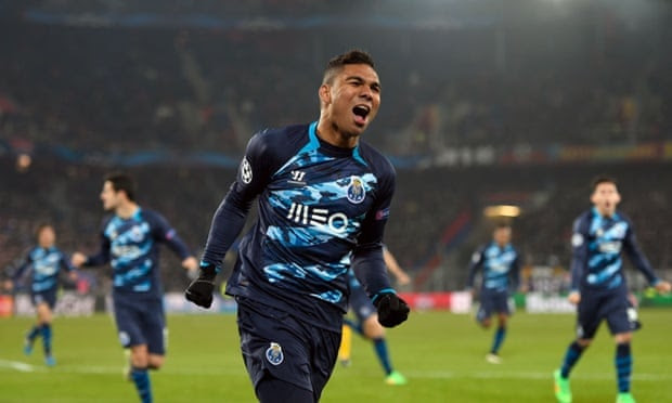 Casemiro is overjoyed to have equalised ... but his joy was short-lived.