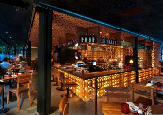 La Nonna Italian Restaurant With Naturally Interior Decorating By