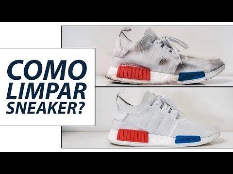 Tem Na Web - COMO LIMPO MEUS TÊNIS? Dicas Rápidas pro dia a dia - Como Limpar Sneakers?