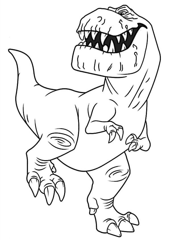 Der Gute Dinosaurier 4 Ausmalbilder Kostenlos