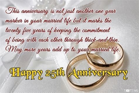 25th Wedding Anniversary Wishes and Messages   BuzzTowns