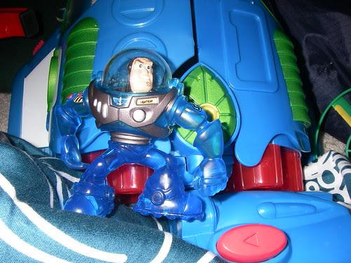 Isaac's Photo of Buzz Lightyear