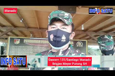 Danrem 131 Santiago Lantik Pengurus Jaring Mitra Korem Provinsi Sulut Dan Kabupaten Kota