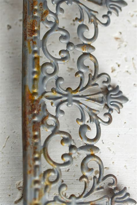 Metal Trim Ribbon Victorian Trim 2.25in x 15 FT