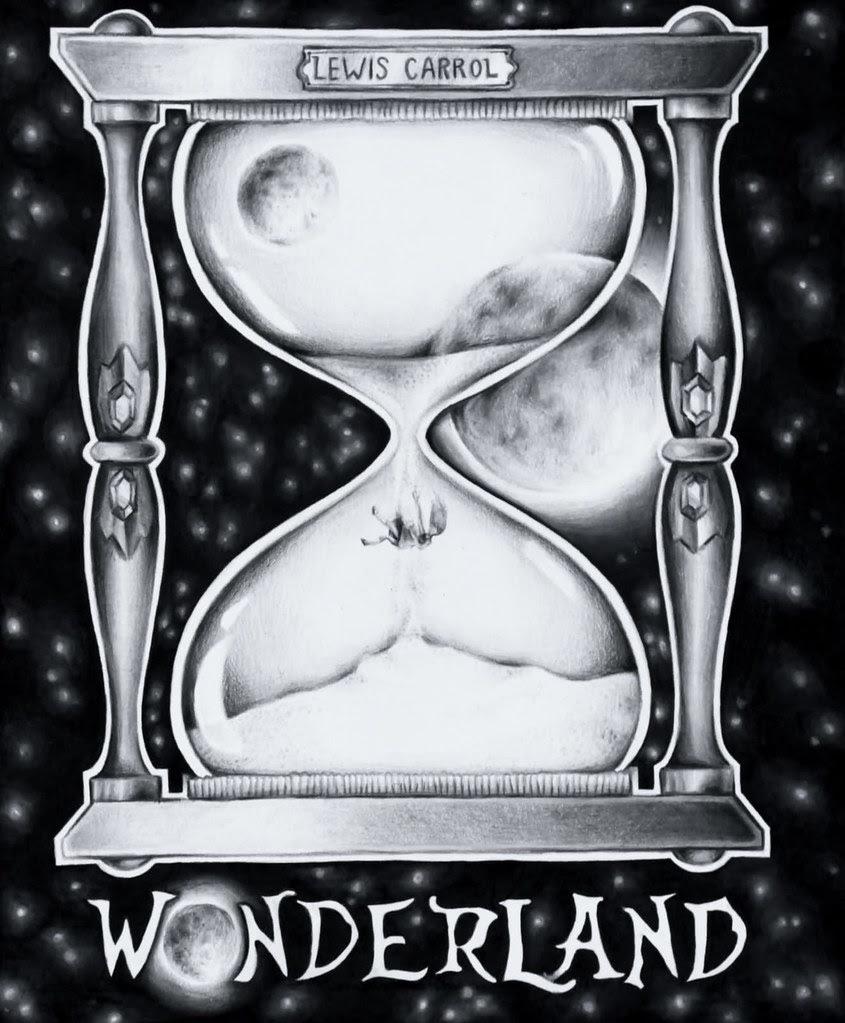 Wonderland Book Cover Illustration