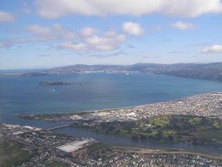 Petone towards Wellington City