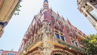 Façana del Palau de la Música Catalana de Barcelona