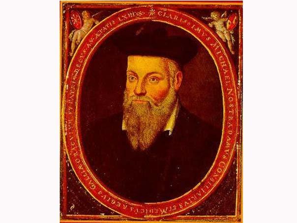 Nostradamus (Michel de Nostre-Dame), astrolog,  matematician şi medic francez