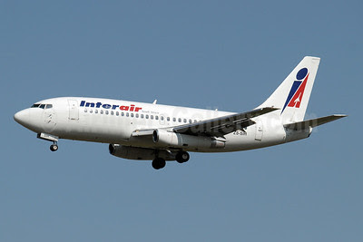 Interair South Africa Boeing 737-244 ZS-SIH (msn 22587) JNB (Paul Denton). Image: 910127.