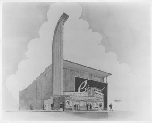 Picwood Theatre sketch design