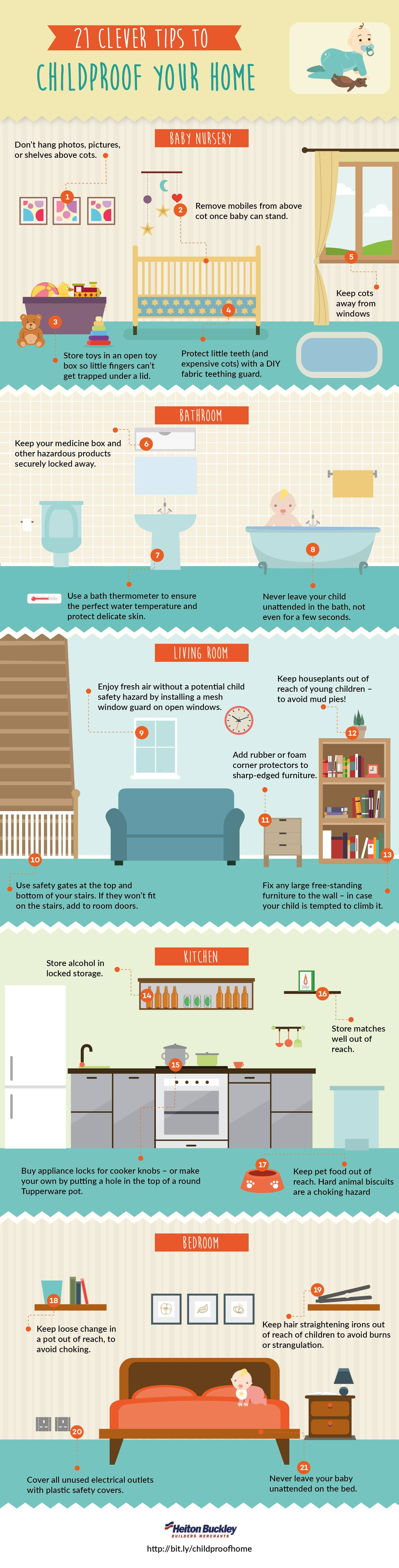 21 Clever Tips To Childproof Your Home