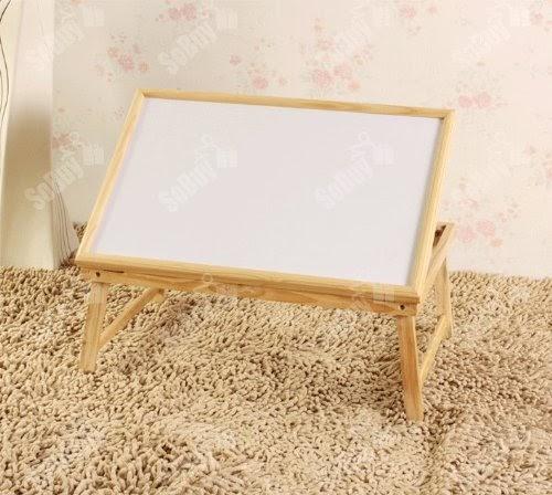 table repas table de lit inclinable pliable plateau peitit d jeuner au lit en bois fbt15 n. Black Bedroom Furniture Sets. Home Design Ideas
