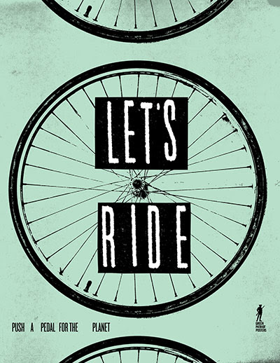 Green Patriot Posters: Jason Hardy: Lets Ride