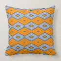 Swallowtail Pattern Throw Pillow