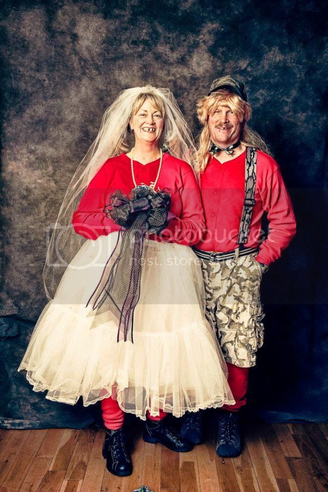 Hillbilly Bride & Groom