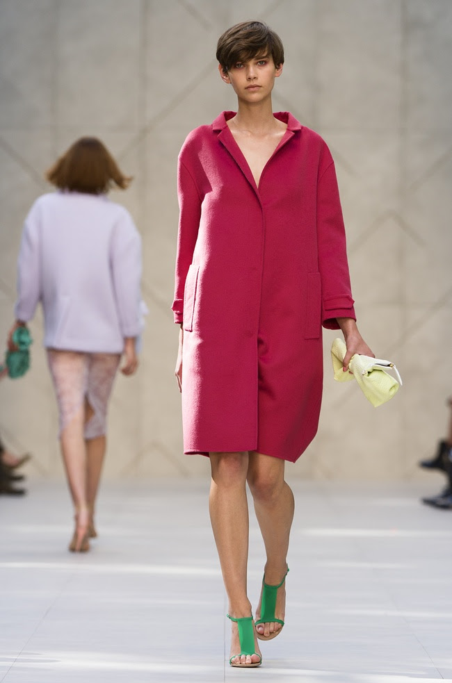 Burberry Prorsum Womenswear Spring Summer 2014 Collection