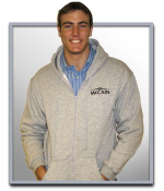 McCain 2008 Full Zip Hooded Sweatshirt