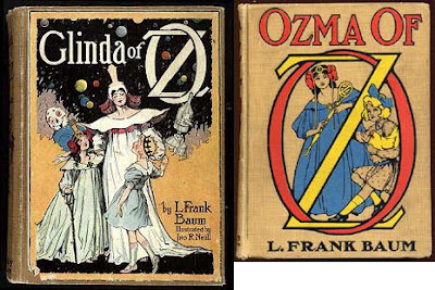 Glenda of Oz and Ozma of Oz