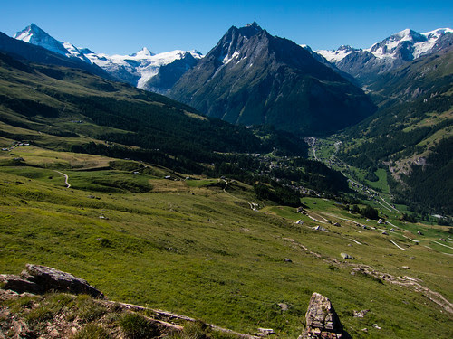 Climbing from Villa to the Col du Torrent by ghaff