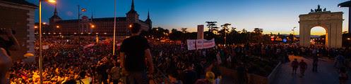 Marcha minera, Madrid, 10 de Julio