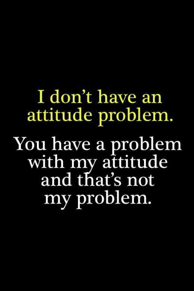 Attitude Adjustment Quote