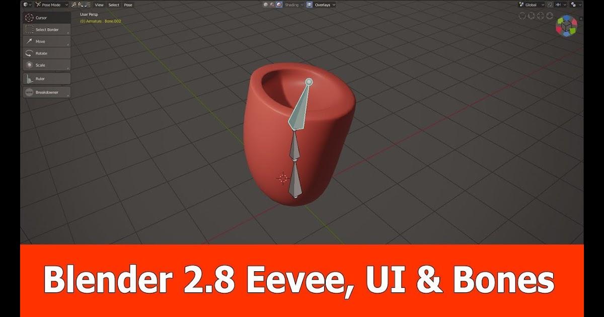Blender 2 8 Features : Eevee, UI & Bones | CG News