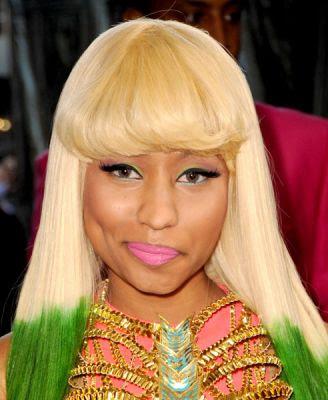 nicki minaj hair bob. cute how Nicki Minaj#39;s eye