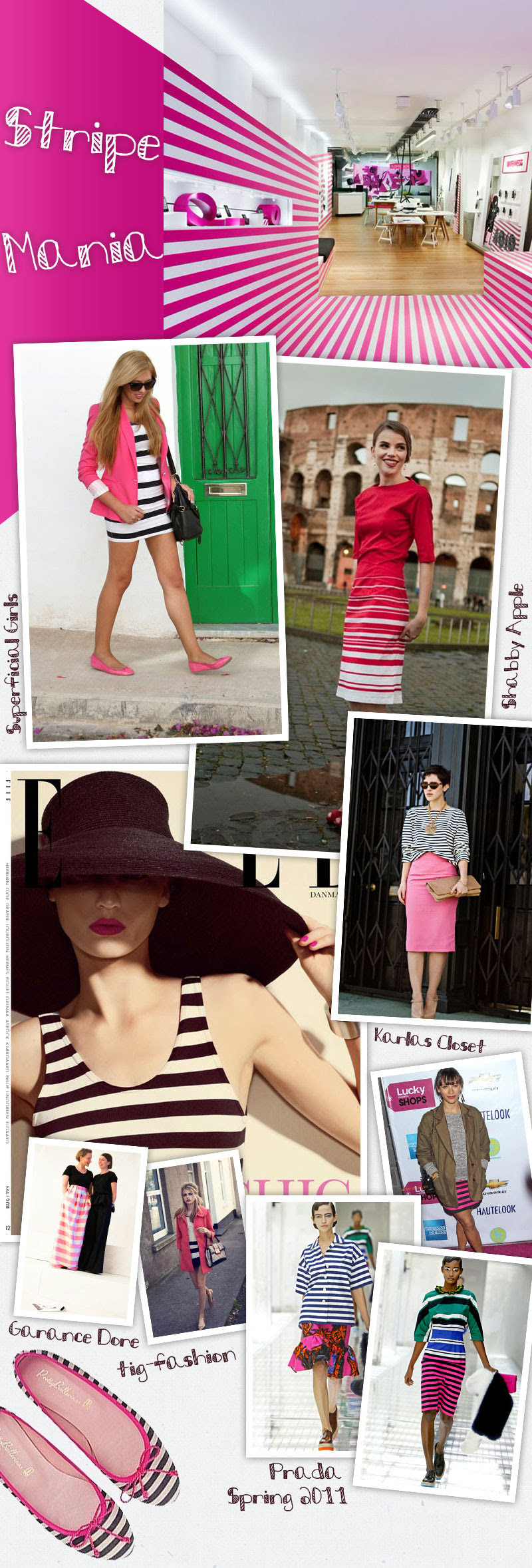 Striped outfit 22.06.2011