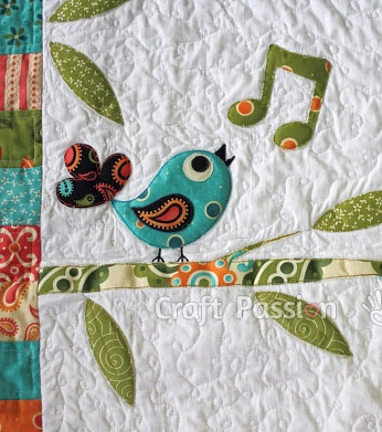Songbird Trees and Sun Applique Patterns