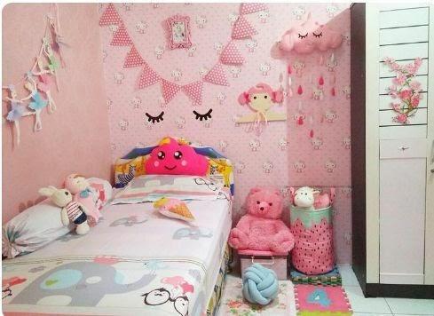 Desain Kamar Minimalis Anak Perempuan