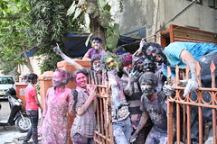 Holi Bash At L.S.Raheja College of Architecture, St Martins Road Mumbai by firoze shakir photographerno1