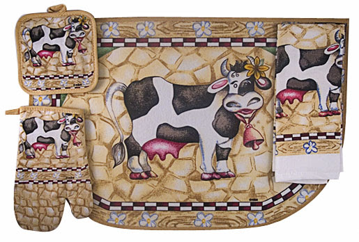 Kitchen Accessories With Cows Home Decoration Ideas