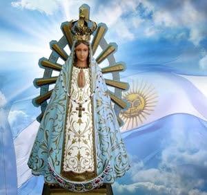 Virgen De Luján Argentina 1630 Reina Del Cielo