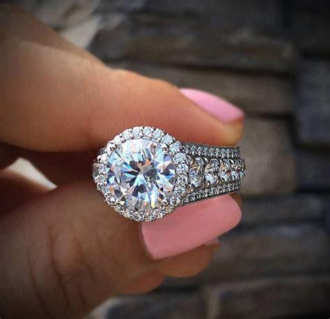 8 Beautiful BIG Engagement Rings   Raymond Lee Jewelers
