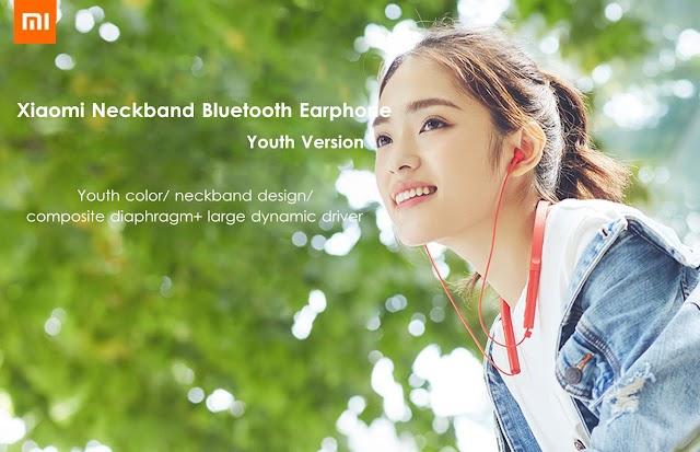 Xiaomi Bluetooth Earphone HiFi Dynamic Sports Headphone with Mic