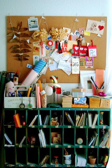 gluestickgirl:  Old Photo of Inspiration Board (by Dawn)