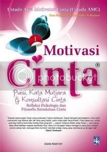 motivasi cinta, penerbit; dian raakyat ditulis oleh ustadz AMC seharga Rp 55.000
