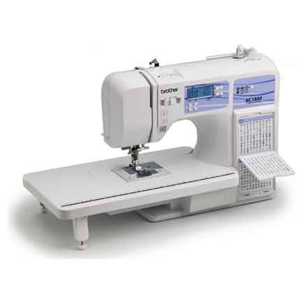 Amazon.com: Brother HC1850 Computerized Sewing and Quilting ...