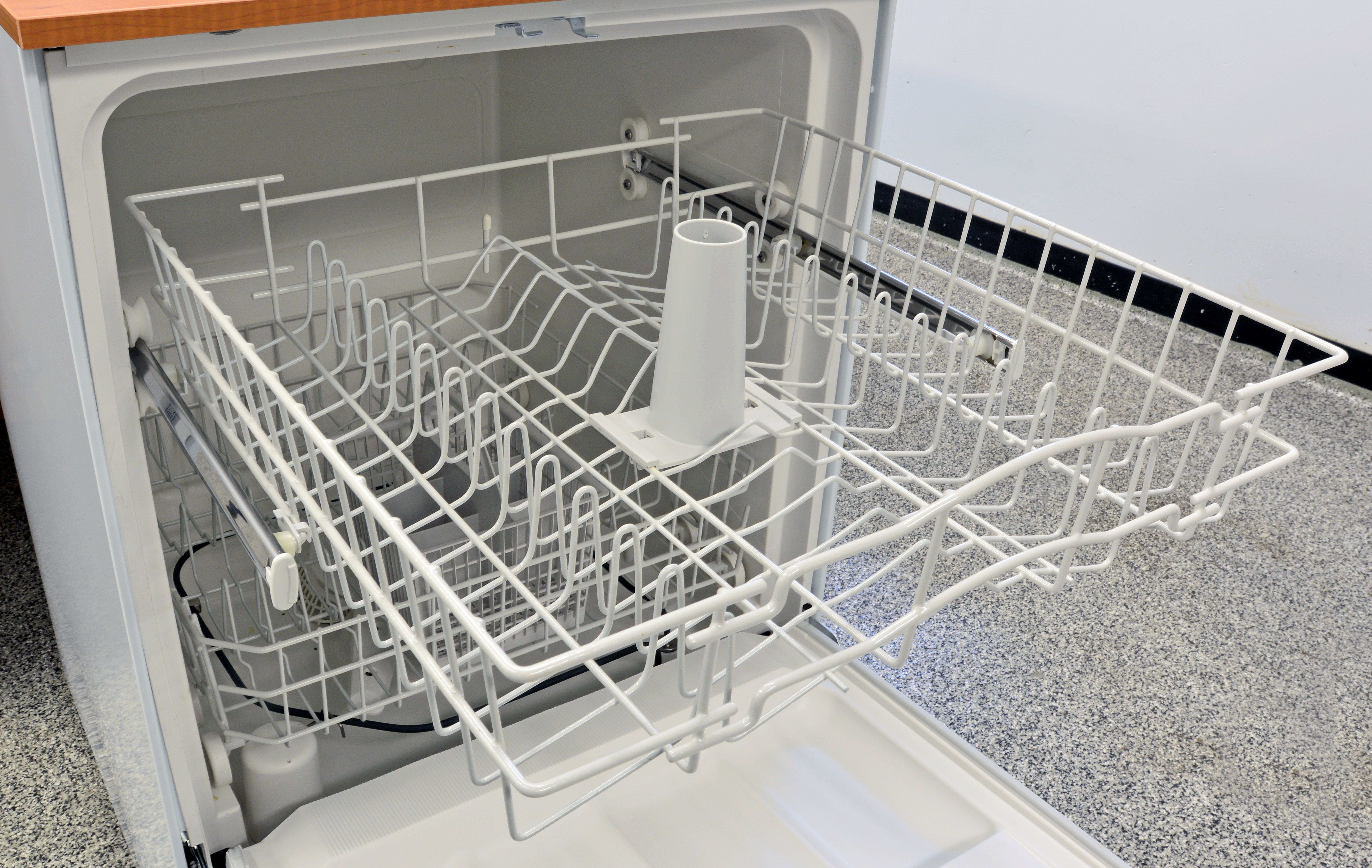 GE GSC3500DWW Portable Dishwasher Review Reviewed Dishwashers