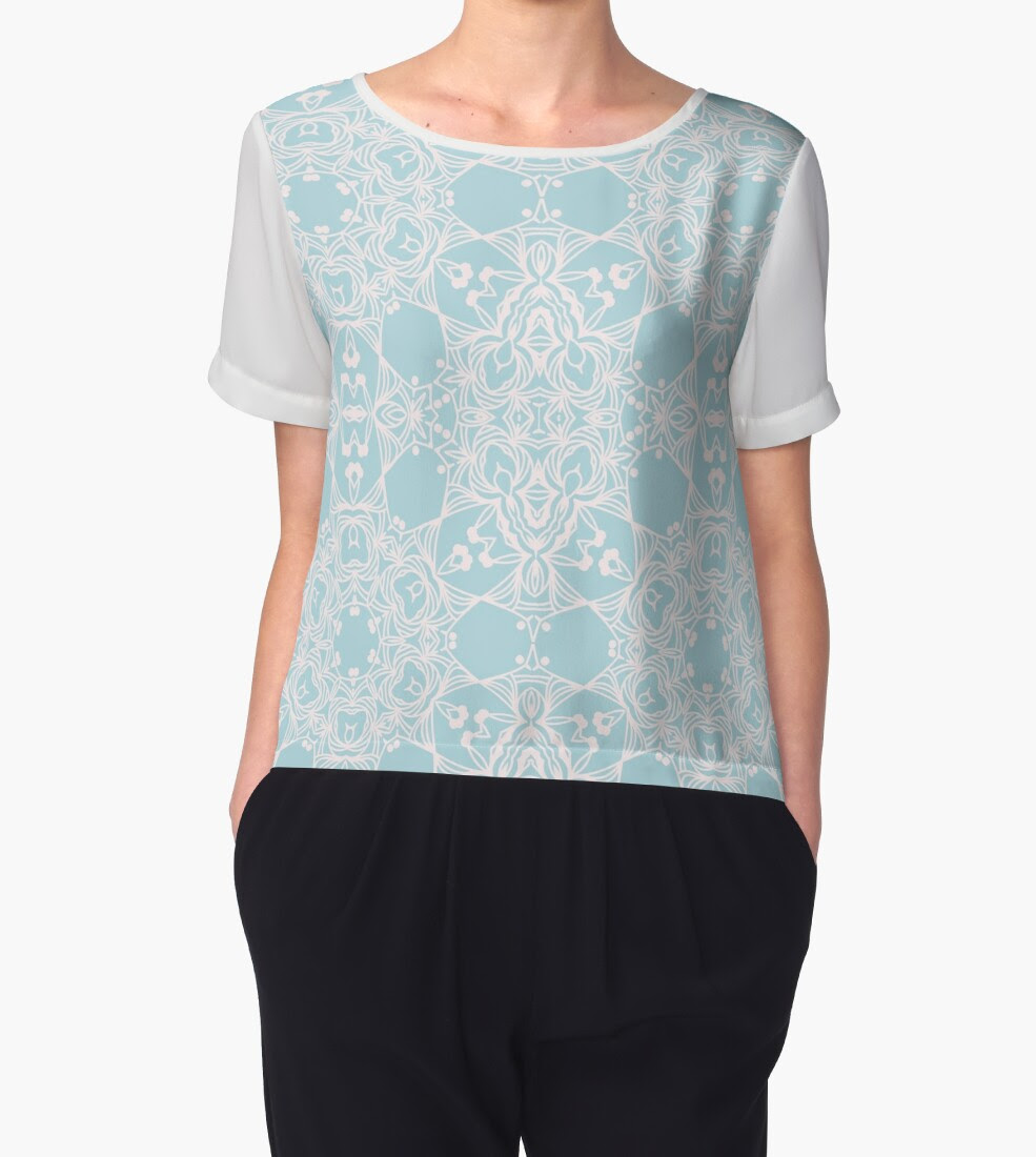 http://www.redbubble.com/people/torriphoto/works/23538557-blue-arabesque-ornament-abstract-design?p=chiffon-top&style=chiffon-top&body_color=white