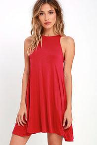 Tupelo Honey Berry Red Dress