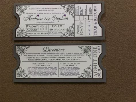 Movie Theme  Invitation Suite: A Blessing in disguise