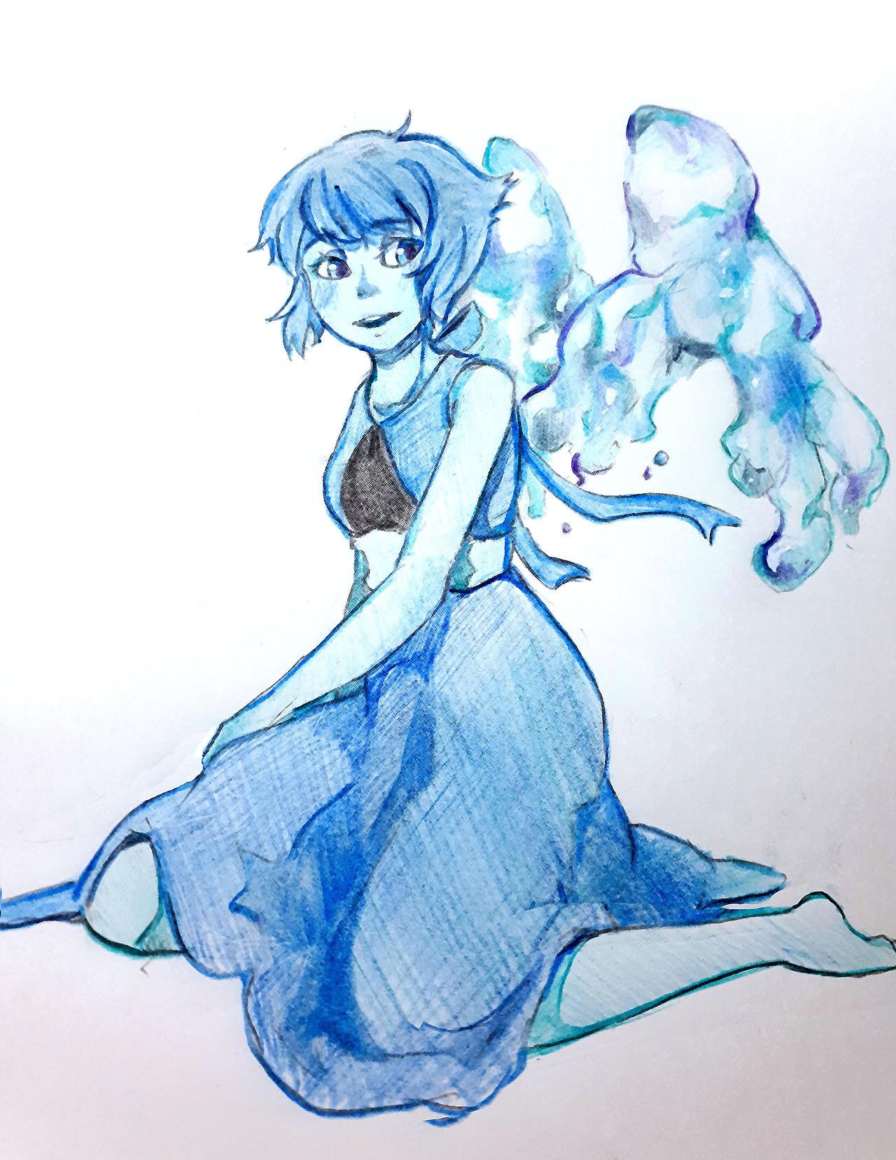 Lapis in my doodle art