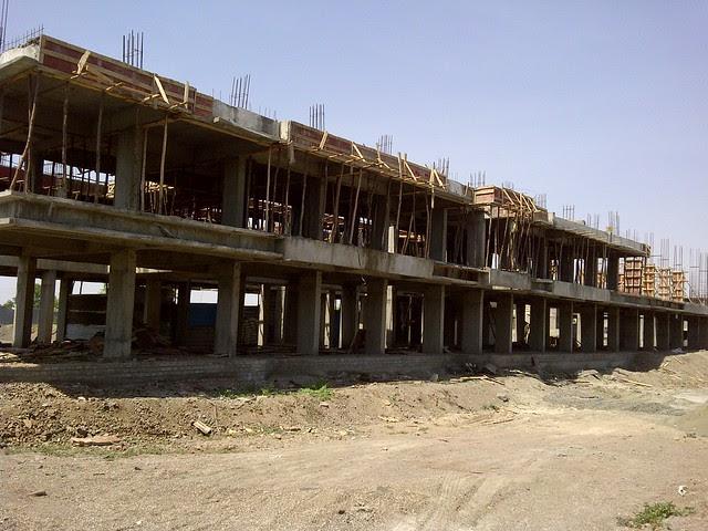 A Building -  Visit Tej Platinum, 1 BHK & 2 BHK Flats near Uruli Kanchan Railway Station, Pune Solapur Highway, Pune 412 202