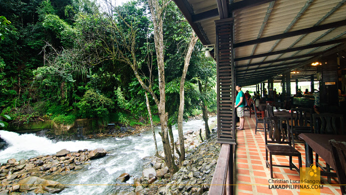 Lunch at the Song Praek River Lodge in Phang Nga, Thailand